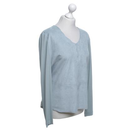 Riani Blaues Langarmshirt
