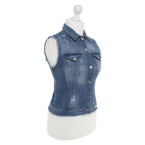 huge discount d7d26 bba80 Liu Jo Gilet di jeans con applicazione - Second hand Liu Jo ...