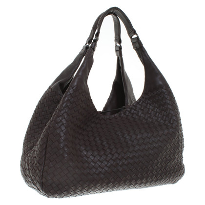 "Bottega Veneta ""Campana Bag Large"" in marrone scuro"