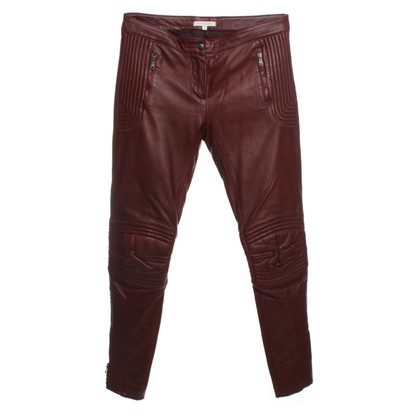 Faith Connexion Pantalone in pelle biker