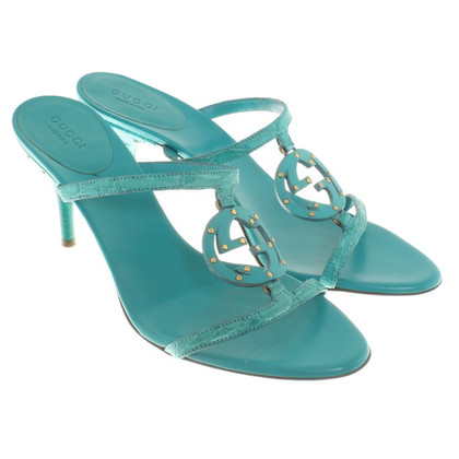 Gucci Turquoise sandals