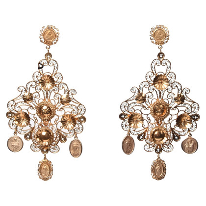 Dolce & Gabbana Chandelier Earrings