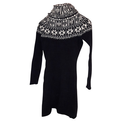 Stefanel Knit dress in black and white