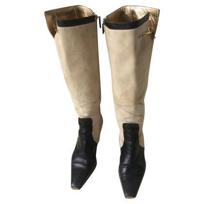 Gucci stivali di camoscio