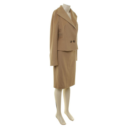Max Mara Costume made of camel hair
