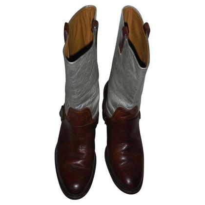 Ralph Lauren Stiefel aus Leder