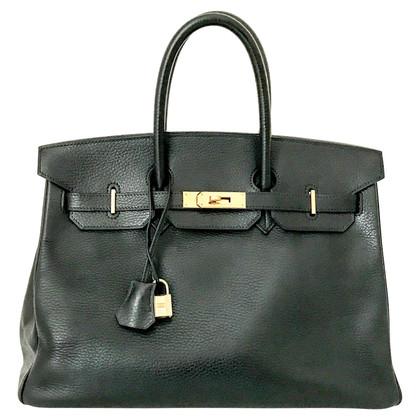 Hermès Birkin 35 noir avec du matériel d'or