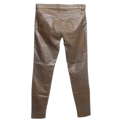 J Brand Jeans in metallic look