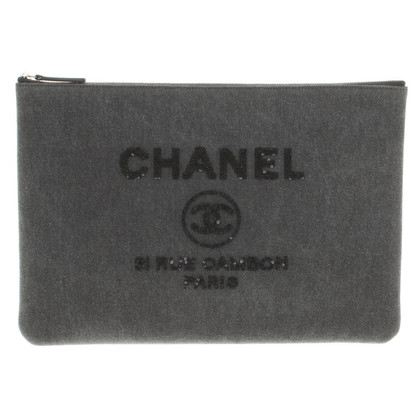 Chanel Lapop-Tas in Gray