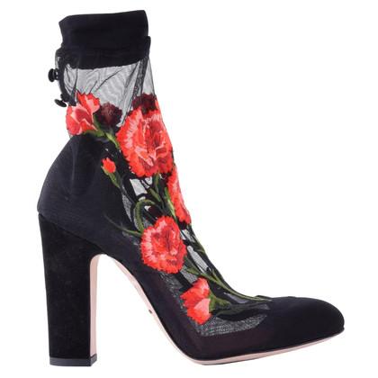 Dolce & Gabbana pumps avec broderie florale