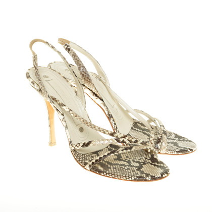 Gianmarco Lorenzi Sandals made of reptile leather