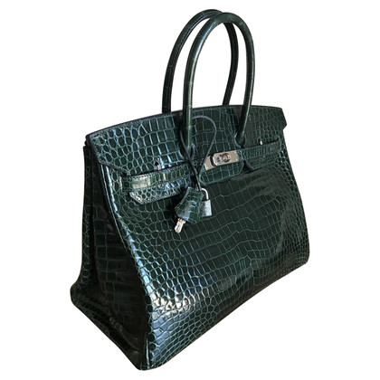 "Hermès ""Birkin Bag 35"" crocodile skin"