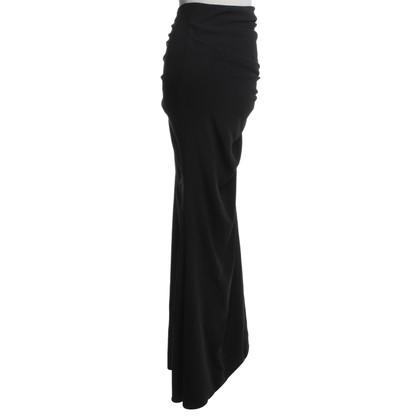 Elisabetta Franchi Maxi rok in zwart