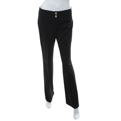 Gianni Versace trousers in black