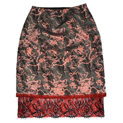 Christian Lacroix Floraler skirt