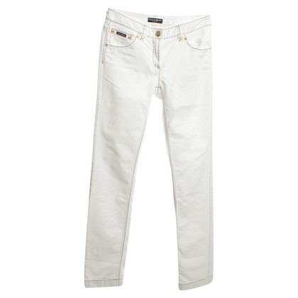 Dolce & Gabbana Jeans in white