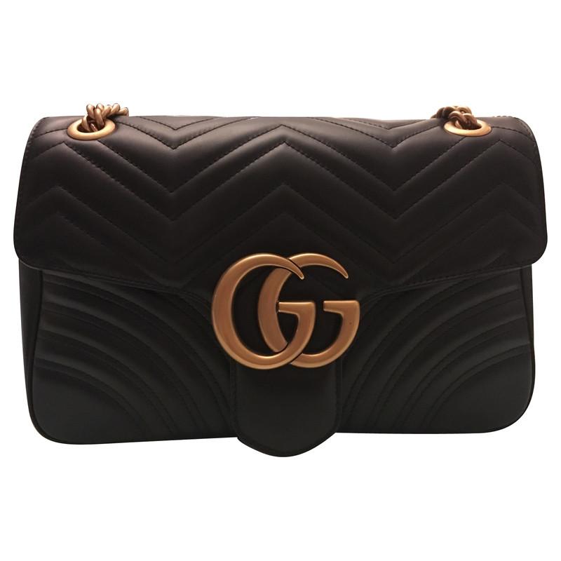 Gucci Marmont Gg Shoulder Bag