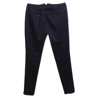 Pinko trousers in dark blue
