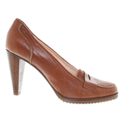 Max & Co Lederen pumps in Bruin
