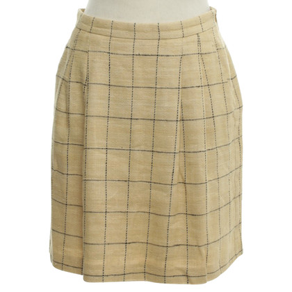 Max Mara skirt with checked pattern