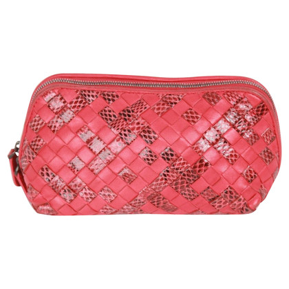 Bottega Veneta makeup bag