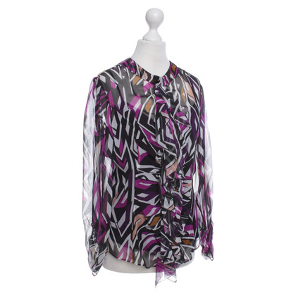 Diane von Furstenberg Blouse with patterns