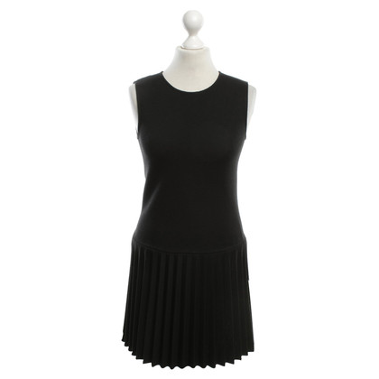 Theory Dress with Pleated Pleats