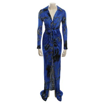 Versace Maxikleid in color
