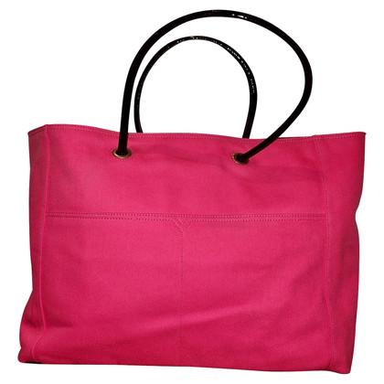 Yves Saint Laurent Pink Shopper Bag