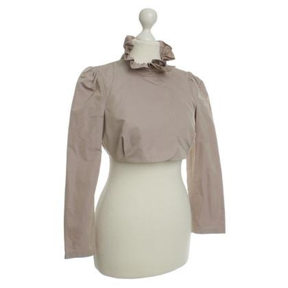 Patrizia Pepe Bolero giacca beige