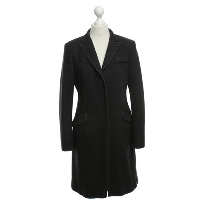 Brunello Cucinelli Felted wool coat in grey