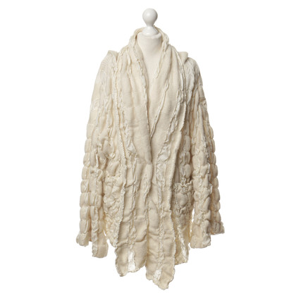 DKNY Oversized Cardigan in cream