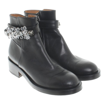 Schumacher Ankle boots with semi-precious stones