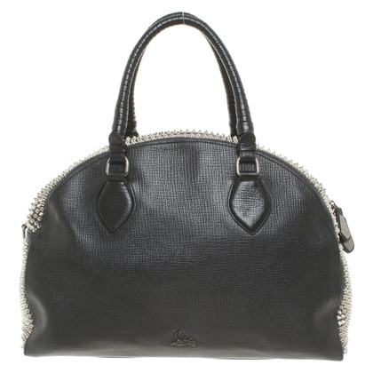 Christian Louboutin Bowling bag with studs