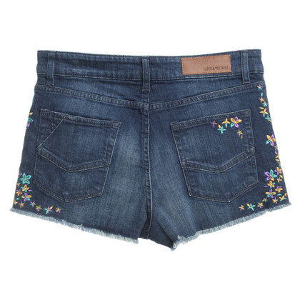 Zadig & Voltaire Jeansshorts with flower pattern