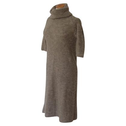 Humanoid taupe Midi gebreide jurk