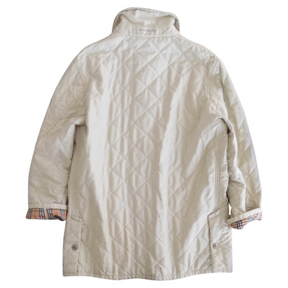 Burberry Steppjacke in Off-White