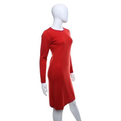 Kenzo Brei de jurk in rood