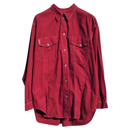 Max & Co Blouse met overhemd in rood