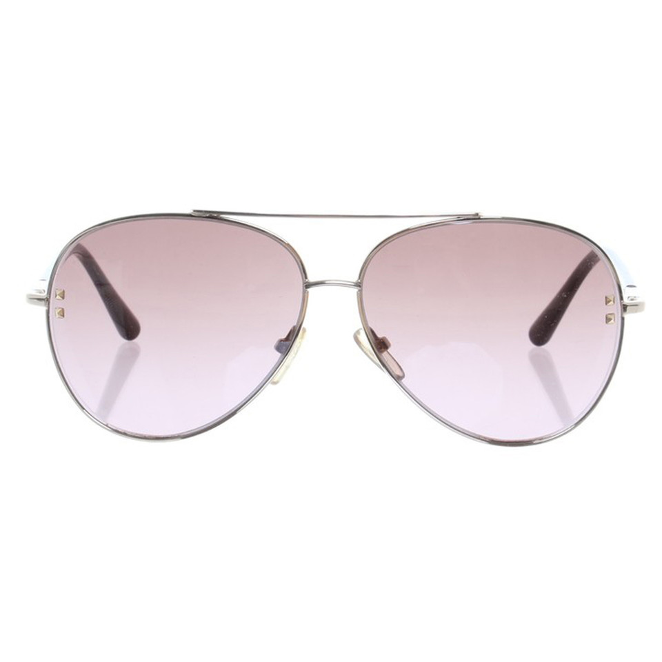 Valentino Pilot style sunglasses