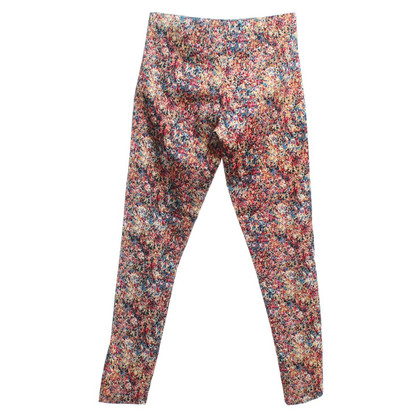 Rika trousers with floral pattern