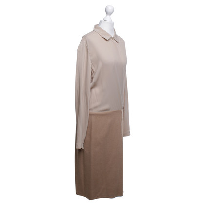 Max Mara Shirtblouse dress in beige