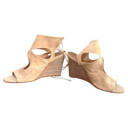Aquazzura Sandals with wedge heel