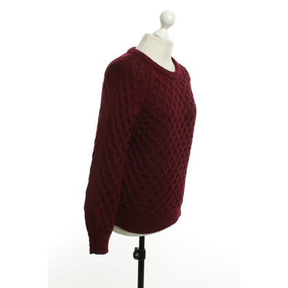 Isabel Marant Wool sweater in Bordeaux