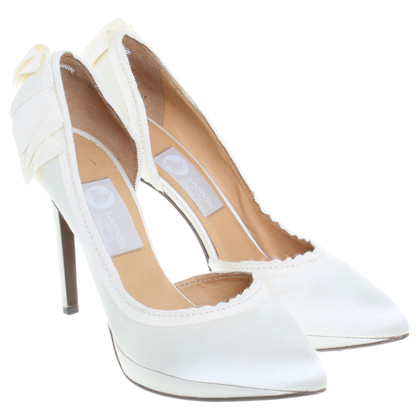 Lanvin Pumps in cream