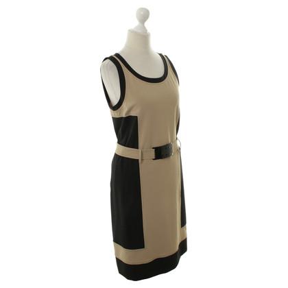 Fendi Dress in beige/black