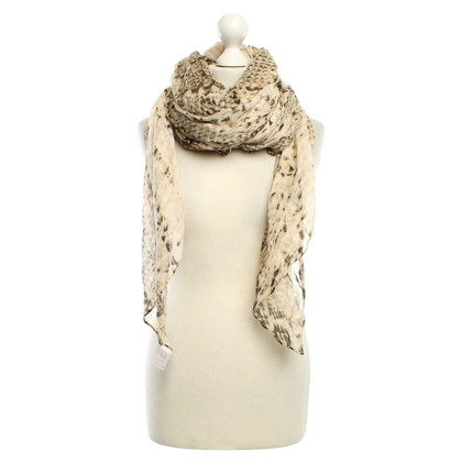 Lala Berlin Scarf with reptile pattern