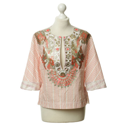 Just Cavalli Blouse with Strip pattern
