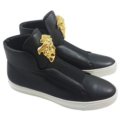 Versace Sneakers in zwart