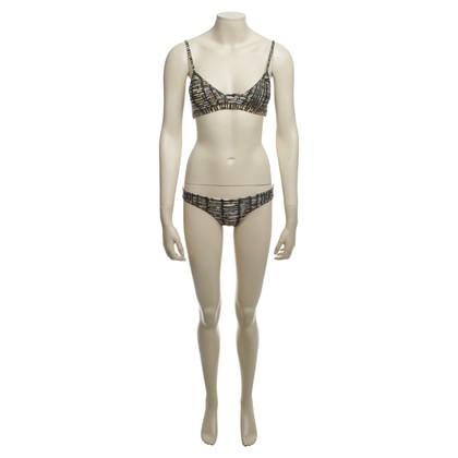 Andere Marke Issa de' Mar - Bikini mit Muster